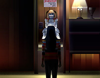 Official Warner Bros Artwork for Annabelle Talenthouse