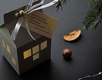Christmas paper souvenir