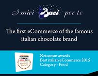 Baci Perugina e-commerce: I miei Baci per te