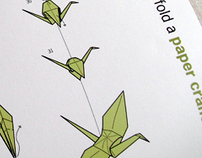 How to Fold a Paper Crane