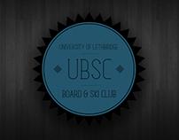 University of Lethbridge Board & Ski Club Logo