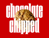 Chocolate Chipped Display Font
