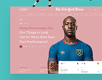 NYT Redesign Concept №2