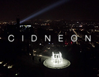 CIDNEON / CASTLE FESTIVAL OF LIGHTS / AERIAL VIDEO
