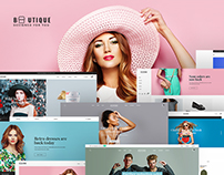 Boutique - eCommerce & Shop PSD Template