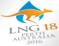 LNG18 Conference Branding