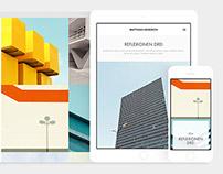 Adobe Portfolio layouts
