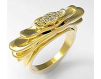 'Medusa' Ring