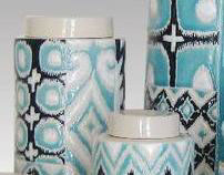 Ikat Stoneware Collections