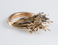 """Intertwined"" Ring"