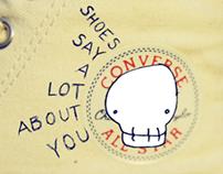 Fictional Converse Chuck Taylors Spot