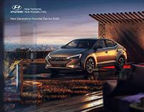 Hyundai Elantra 2019 - Full CGI