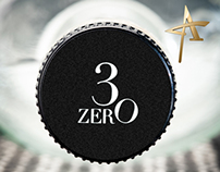 3ZERO Platinum Rum Packaging