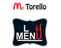 FAST FOOD MENU Mc Torello [2013]