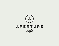 APERTURE cafe identity