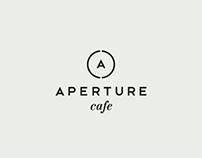 APERTURE cafe identity
