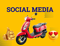 Wheels Scooter House Social Media Designs