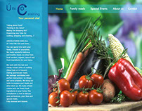 Unico Catering: Website Design & Development