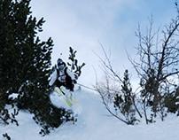 Performance skiwear.