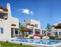 Mediterranean House hills