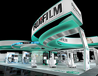 Fujifilm 80th Anniversary Booth Concept Renders