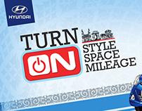Hyundai EON Hoarding Design