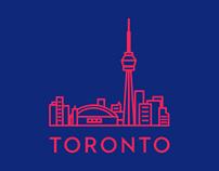 Toronto Landmark Icons
