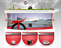 Option Travel Tours Web Design