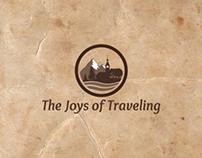 The Joys of Traveling logo design