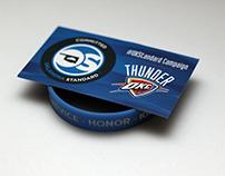 Oklahoma Standard Thunder Bracelet Card