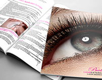Print Design for Beauty Industry Group