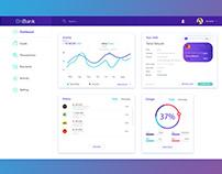 Dashboard OnBANK IOS Application