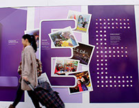 Leeds Beckett University Rose Bowl Hoardings