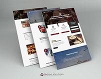Sitio web RQ Trading Solution - España