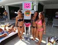 The Art Bot Costume (spinning Head:)