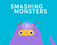 smashing monsters - concept art