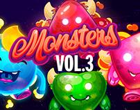 Monsters Vol 3 Oscar Creativo