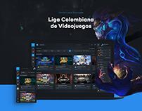 LCV: E-Sports Web Platform Design