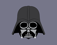 Darth Vader Digital Illustration