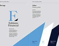 Editions Financial Brand and Visual Identity Guidelines