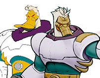 Wildwing (Mighty Ducks) Os Super Patos
