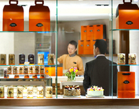 The Mandarin Oriental Cake  Shop : Brand identity
