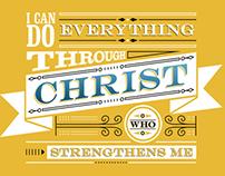 Philippians 4:13 - shirt design