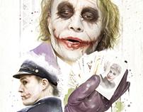 """THE JOKER"" Origins Movie Poster"