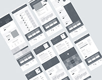 Webapplication Menu Design