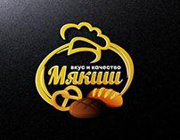 Мякиш logotype design
