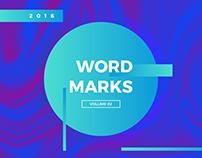 WORDMARKS | Volume 2 (2016)