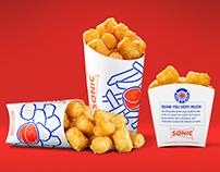 Sonic Generic Packaging