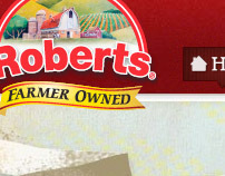 Roberts Dairy website redesign