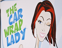 The Car Wrap Lady's full wrap project